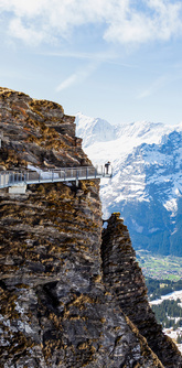 cliff walk grindelwald
